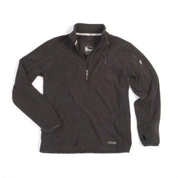 Small - Black - 1/4 Zip Camp Shirt picture