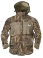 XL - MAX5 - Waterproof 1/4 Zip Hooded Pullover