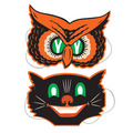 Owl & Cat Masks