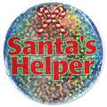 Santa's Helper Button