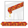 Printed Fall Leaf Table Runner