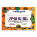 Happily Retired Certificate