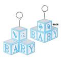 Baby Blocks Photo/Balloon Holder