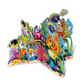3-D Coral Reef Stand-Up