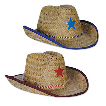 Child Cowboy Hats w Star   Chin Strap picture fc9e6d77fac