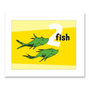 TWO FISH, yellow