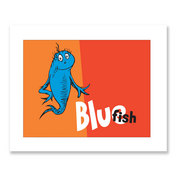 BLUE FISH, orange