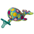 "Bubbly Whale WubbaNub™ Pacifier - 6"""