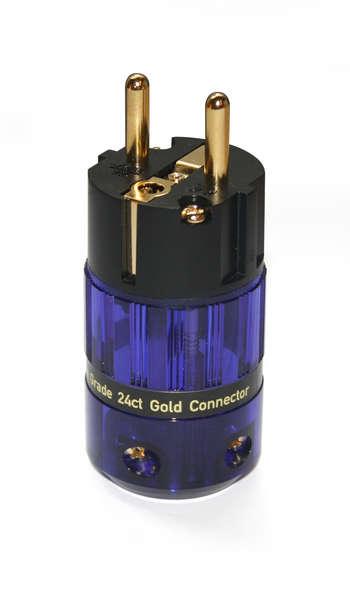 isotek evo3 gold plated schuko plug