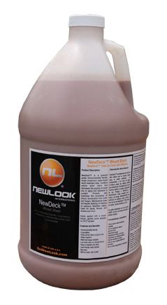 1-Gal. NewDeck - Wood Stain Concentrate picture