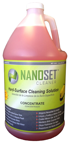 1-Gal. NanoSet Cleaner - Nano-Silica Maintenance Cleaner Concentrate picture