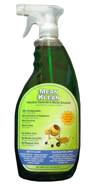 22 oz Mean Klean - Concrete & Mortar Dissolver picture