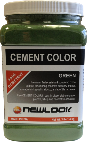 3 lb. Green Fade Resistant Cement Color picture