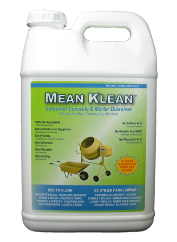 2.5-Gal. Mean Klean - Concrete & Mortar Dissolver picture