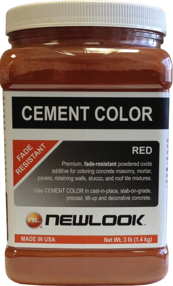 3 lb. Red Fade Resistant Cement Color picture