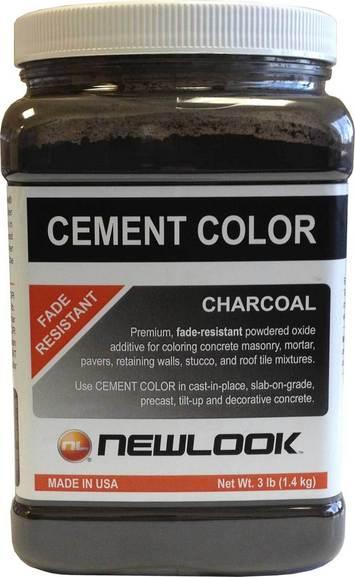 3 lb. Charcoal Fade Resistant Cement Color picture