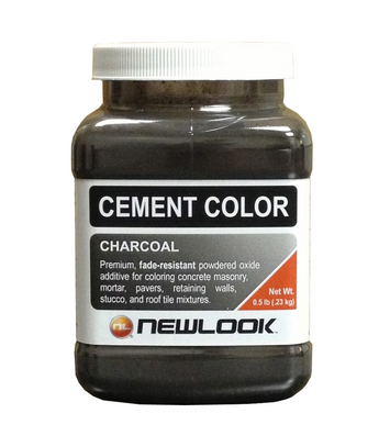 1 lb. Charcoal Fade Resistant Cement Color picture