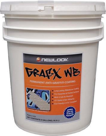 5-Gal. Graf-X WB Permanent Anti-Graffiti Coating picture