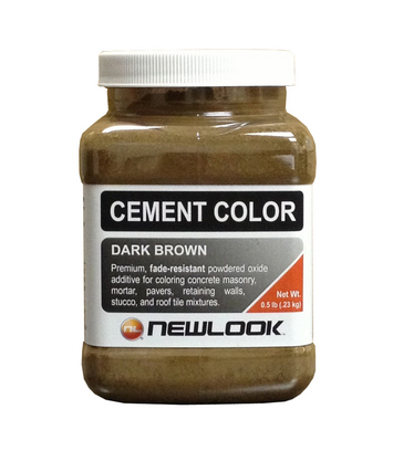 0.5 lb. Dark Brown Fade Resistant Cement Color picture