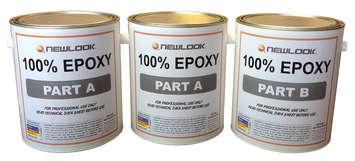 100% Epoxy - Pro Grade Top Coat Sealer Kit picture