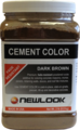 2 lb. Dark Brown Fade Resistant Cement Color
