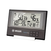 TE256W Slim Line Personal Weather Station with Atomic Clock