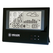 TE636W Slim Line Personal Weather Station with Atomic Clock