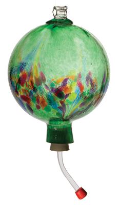 Art Nouveau Humminbird Feeder - Green picture