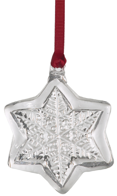 Clear Snowflake Jewel Suncatcher picture