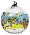 Colour Wave Ornament - Golden Dawn