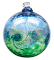 "3"" Kitras Van Glow Ball- Blue/Green"