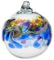 Colour Wave Ornament - Winter Shadow
