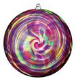 Hanging Spiral Sun Disc- Winter Carnival