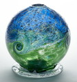 Candle Dome - Van Glow - Blue/Green