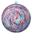 Hanging Spiral Sun Disc - Classic Multi