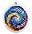 Van Glow Hanging Sun Disc- Blue/Purple