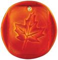 Maple Leaves Suncatcher- Red