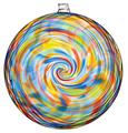 Hanging Spiral Sun Disc - Sunny Sky