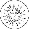 "3"" Suncatcher Sun Amber"