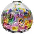 Colour Wave Vase - Round - Desert Flower