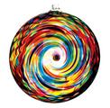 Hanging Spiral Sun Disc - Festive Multi