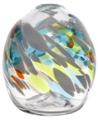 "7"" Calico Oval Vase - Rebirth"