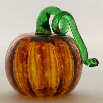 "3"" Pumpkin - Amber picture"