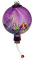 Art Nouveau Humminbird Feeder - Purple