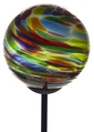 Calico Glass Solar Light- Festive Multi