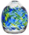 "7"" Calico Oval Vase - Oceania"