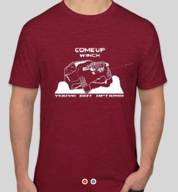 Team Shirt - Jeep JL Cardinal - Large picture