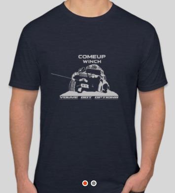 Team Shirt - Toyota Navy Blue - Medium picture