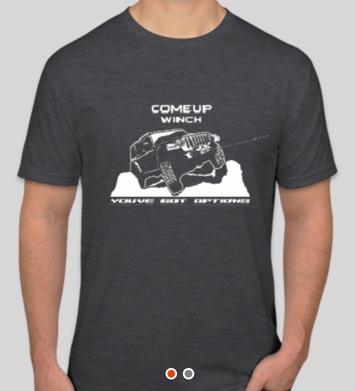 Team Shirt - Jeep JL Charcoal - Medium picture