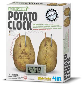 POTATO CLOCK picture